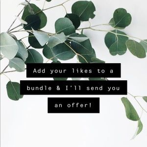 Other - 🌿bundle your likes for a special offer🌿